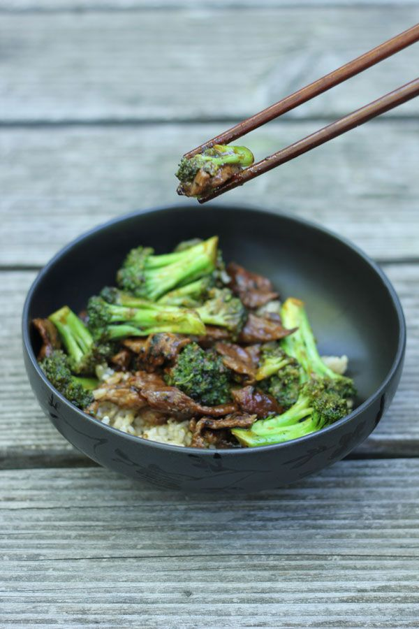 Easy quick homemade beef with broccoli...made for dinner tonight, it was delicious!