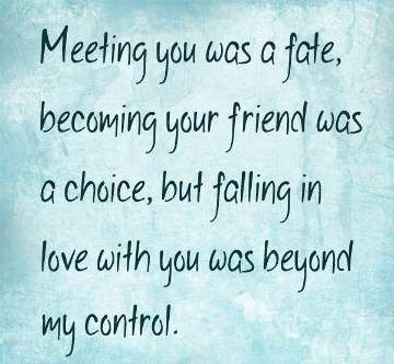 Beyond My Control - Best Romantic Quotes