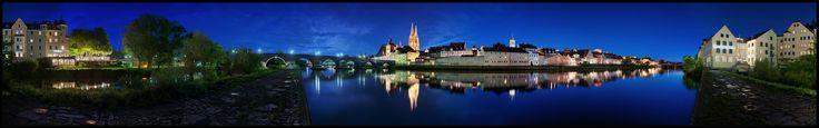 Skyline Regensburg by Christian Maier (amarok)