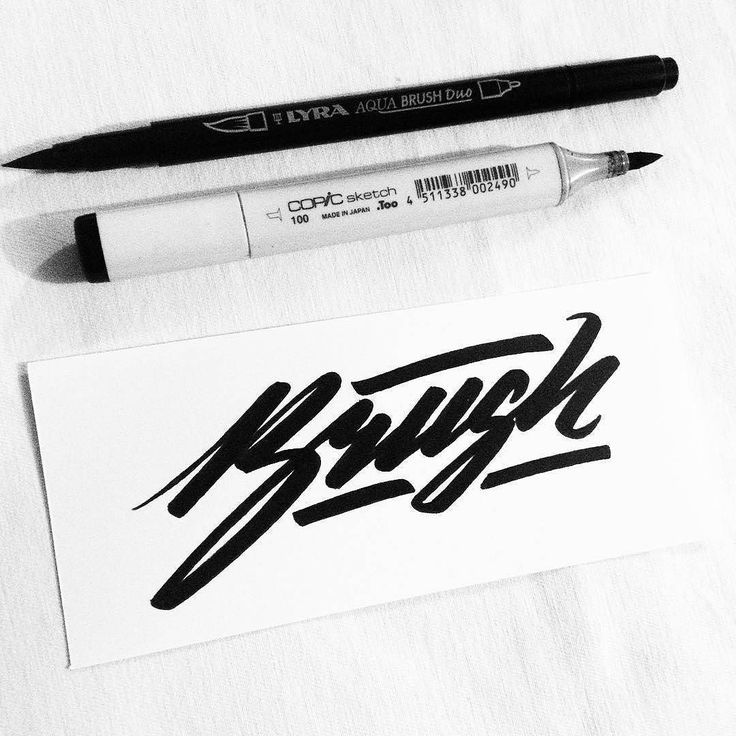 Great flow in this script by @blckride - #typegang - typegang.com | typegang.com #typegang #typography