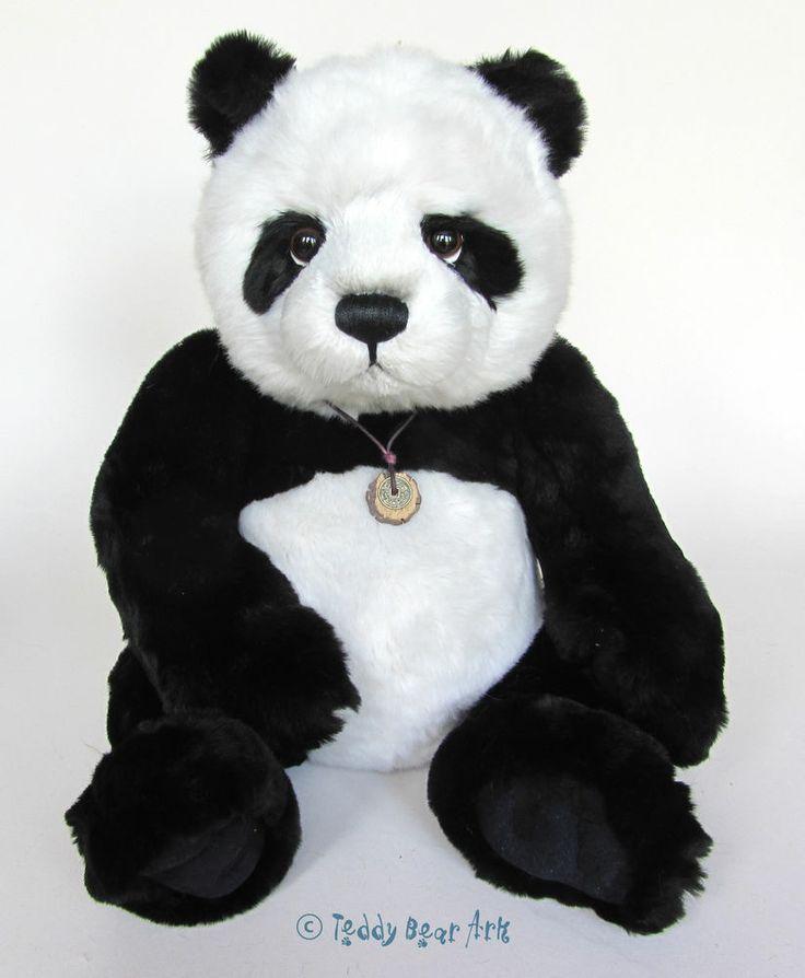 Charlie Bears SWEETHEART Panda Bear Soft Toy