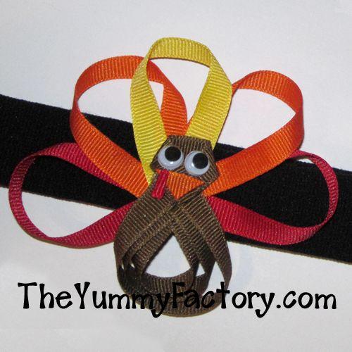 Turkey Ribbon Bow