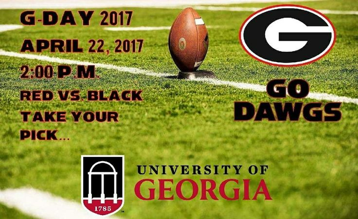 Soon...Very Soon...Take Your Pick...🔴 Or ⚫...Put It All On The Line...The Georgia Football Spring Game...April 22, 2017, At 2:00 P.M...Go 🐾🐾🐾!!! #Red #Black #UGAFootball2017   Pic: Cassie Wright Photography Edit: @ugafootballnews On Instagram