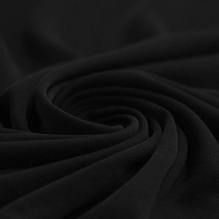 Modal jersey stof zwart kopen? € 14,95 per meter! Bestel kwaliteit jersey stof met een cupro gevoel online.