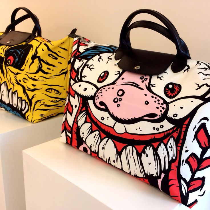 #Longchamp x #JeremyScott #FW14 crossover!! Time for some #Madballs!!