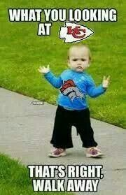 Broncos fans are born tough!!! And that's going to be my kid when I am older!! <3
