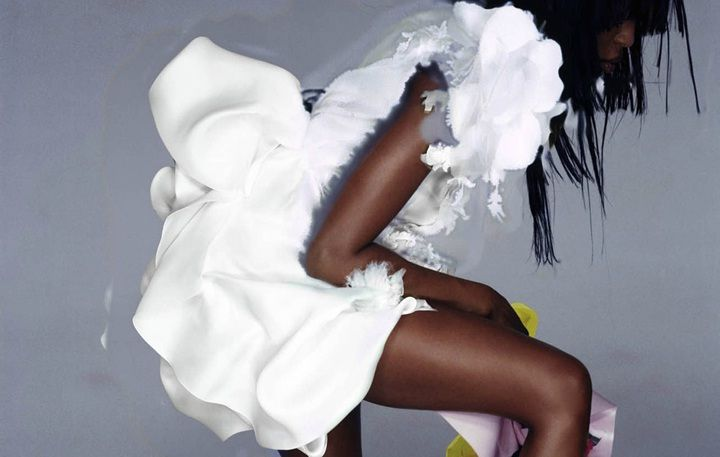 Fotograaf: Nick Knight / V Magazine, Couture, Naomi Campbell, Autumn/ Winter 2007