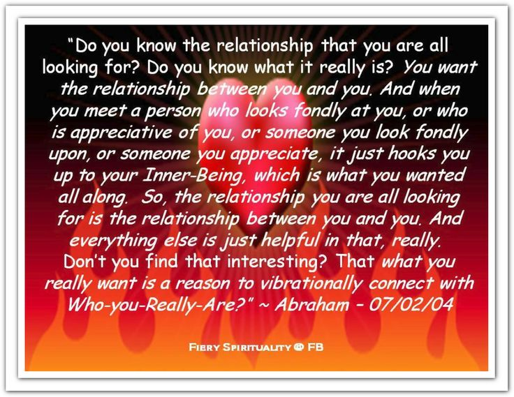 what do really want from a relationship