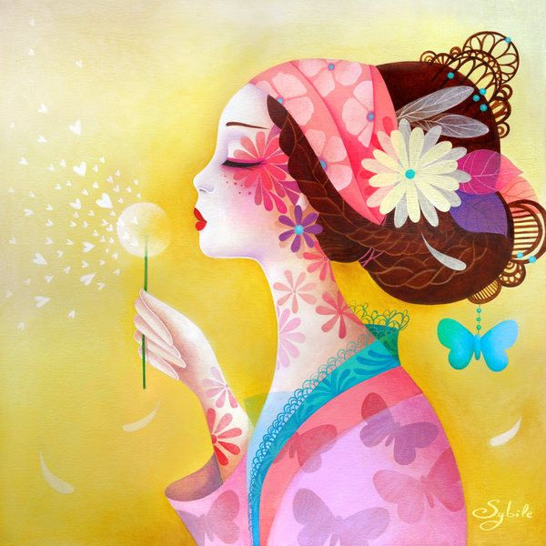 Amazing Asian Illustrations by Lady Sybile