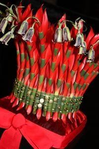 Floral brudekrone