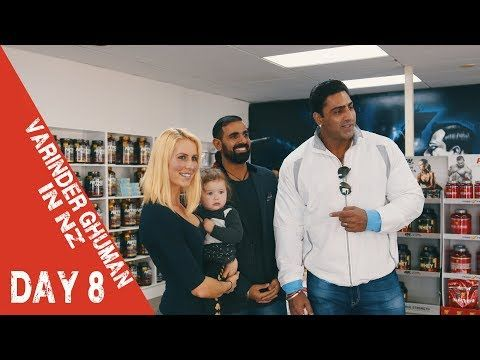 VARINDER GHUMAN DAY 8 #VLOG | Push Up Competition | OneSupps New Lynn & Gym Tips - YouTube