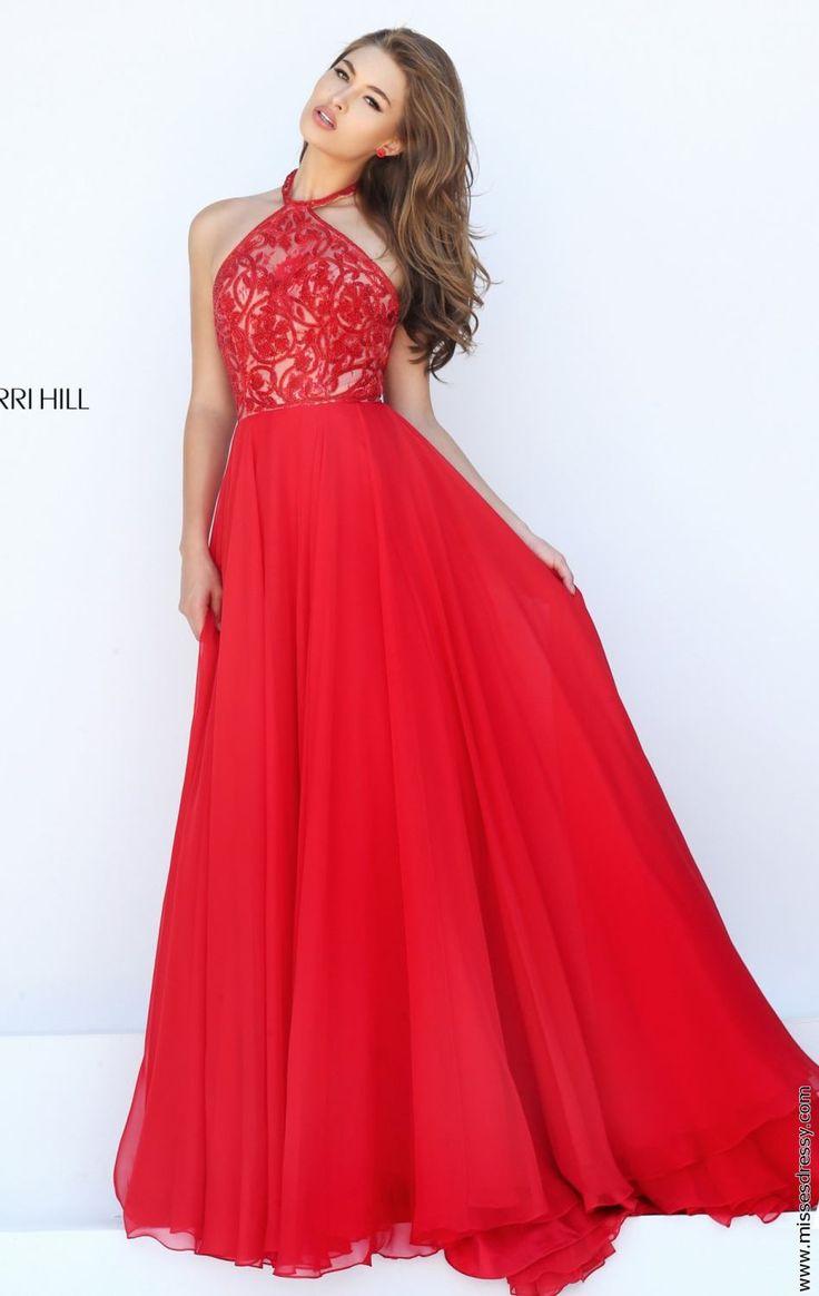 Alle Kleider abitur kleider : Die besten 25+ Sherri Hill rotes Kleid Ideen auf Pinterest ...