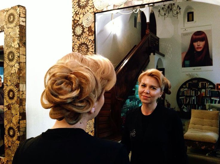 Special hair style for a special lady