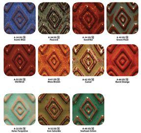 Glazes & Underglazes - Amaco Glaze - Amaco Artist's Choice (A) Glazes