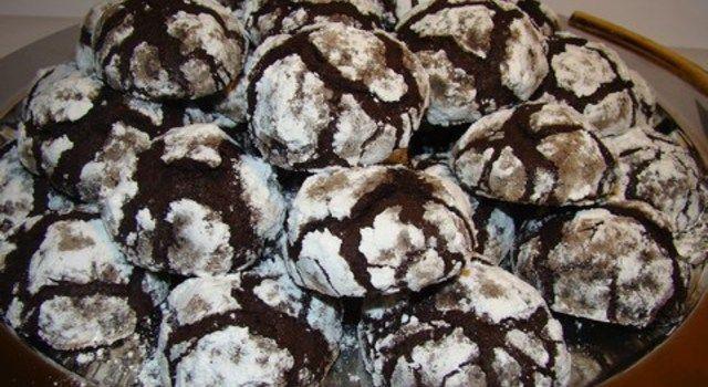 csokoládé pattogós süti