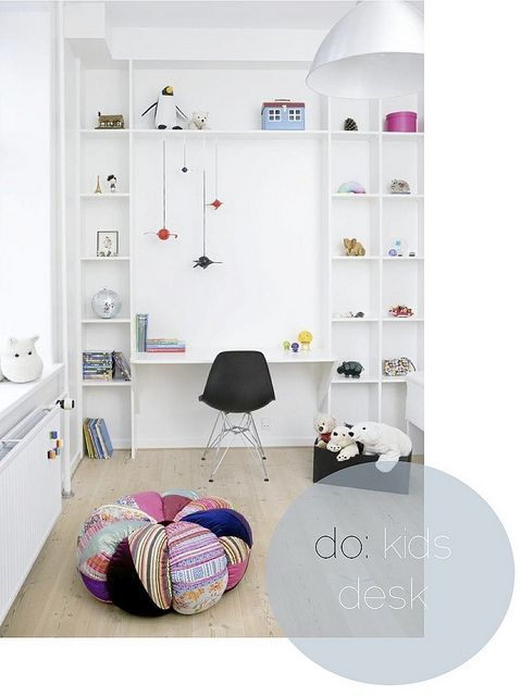 Kids Desk1 by Kenziepoo, via Flickr