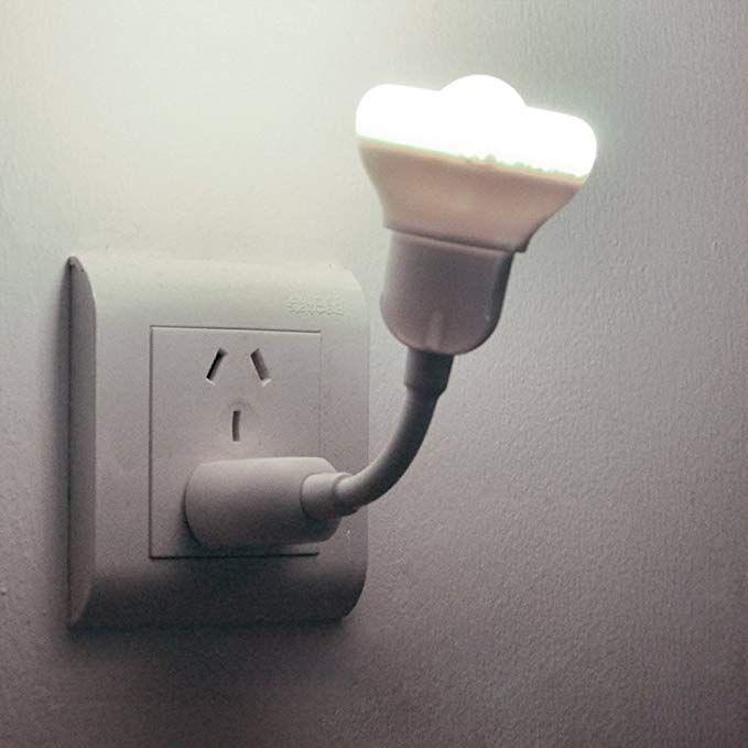 Iminovo Light Sensor And Pir Motion Sensor Led Night Light