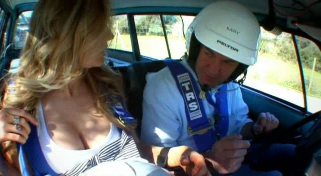 Madison Welch & James May Mallorca rally in a 1976 Citroën Ami (S13 E6)