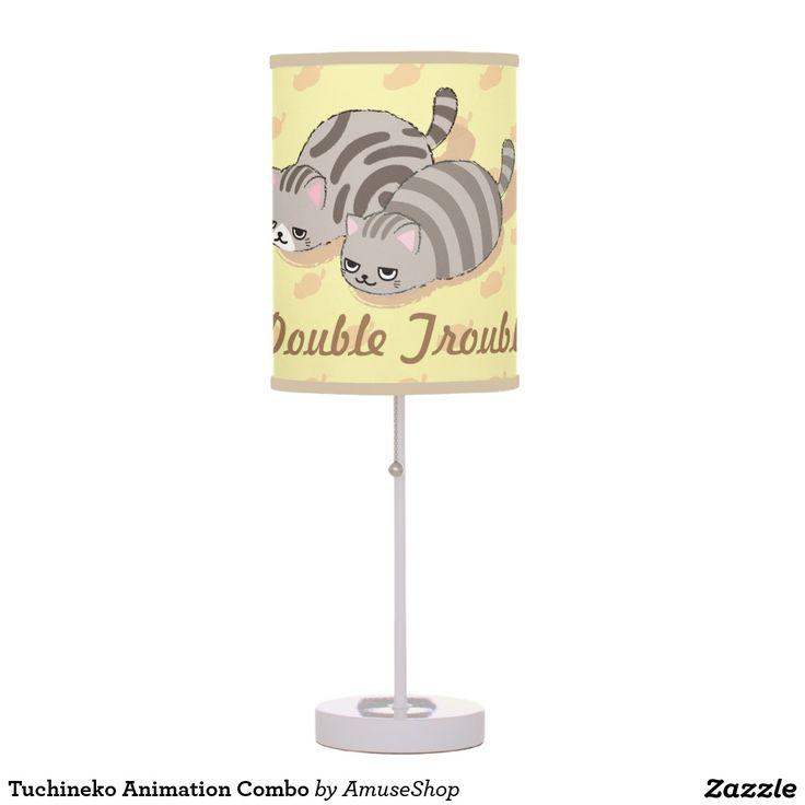 Tuchineko Animation Combo Table Lamp cat, home decor, decoración #lámpara #lamps