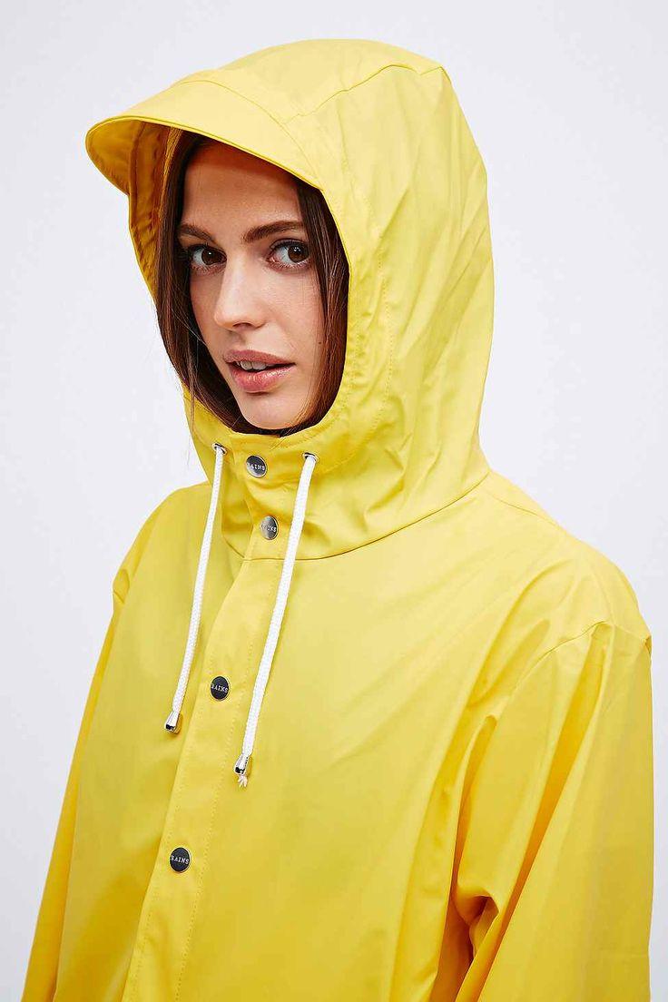 Rains Jacke in Gelb