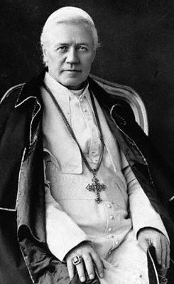 Pope Saint Pius X pray for us and first communicants and pilgrims.  Feast day August 21.