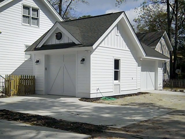 79 best images about garages carports driveways on for Building a detached garage on a slope