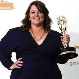 Melissa McCarthy Emmy winner for Mike & Molly
