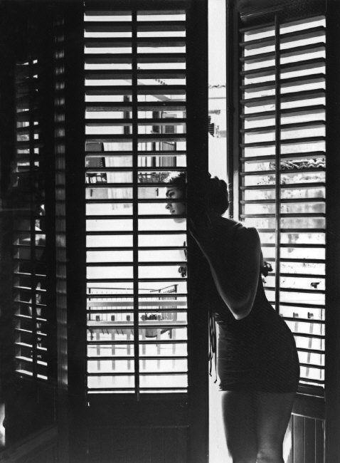 Ferdinando SCIANNA :: Photo session with Carmen SanMartin, Palermo, Sicily, 1991