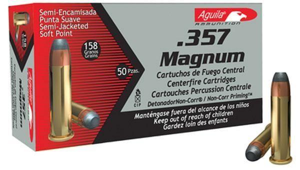 Aguila 357mag Sjsp 158gr 50bx
