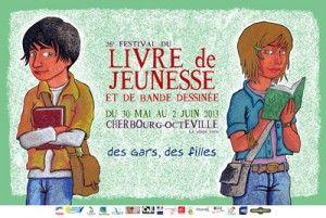 Le Festival du livre de jeunesse et de la bande dessinée de Cherbourg-Octeville vous donne rendez-vous, du jeudi 30 mai au dimanche 1er juin 2013, pour sa 26ème édition.