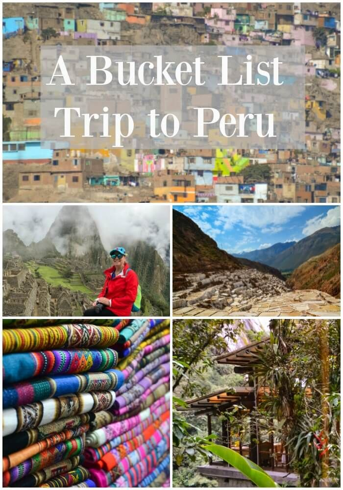 Bucket list adventure to Peru. AdventureSmith Explorations travels from Machu Picchu to the Amazon