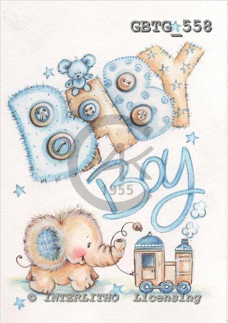 Theresa, BABIES, paintings, GBTG558,#b# bébé, illustrations, pinturas
