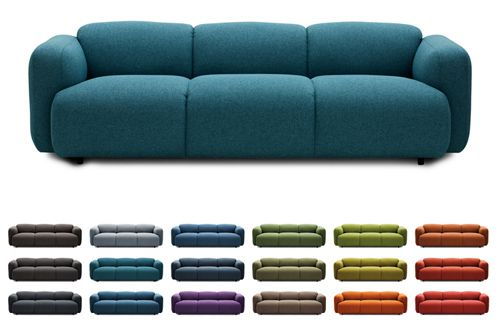 Pfundig: Sofa Swell von Jonas Wagell