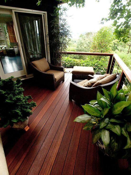 Gorgeous deck color - inspiration