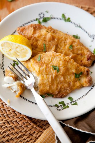 fried catfish. Ron, you wanna come over for dinner?!? :-) :-) :-) :-) :-)