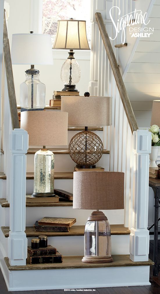 Home Lighting - Table Lamps - Home Furniture and Accessories - Ashley Furniture - #AshleyFurniture