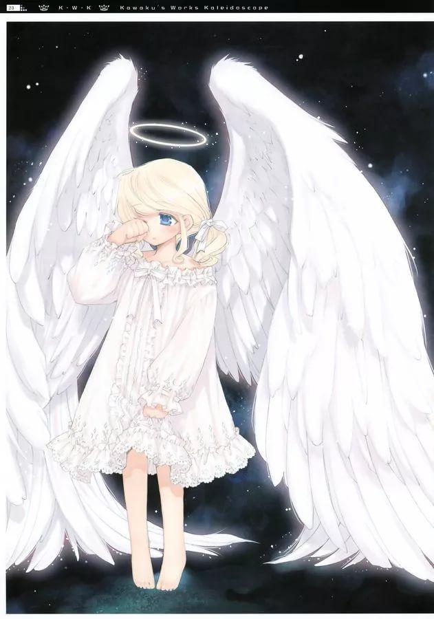 Прикольные картинки ангелы аниме