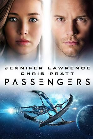 2016  Passengers A spacecraft traveling to a distant colony planet and transporting thousands of people has a malfunction in its sleep chambers. As a result, two passengers are awakened 90 years early.  Stars: Jennifer Lawrence, Chris Pratt, Michael Sheen