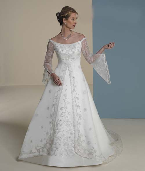 17 best images about wedding dresses on pinterest for Renaissance inspired wedding dress