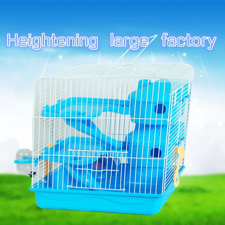 ==> [Free Shipping] Buy Best 2017 New Free shipping The cage hamster Iron wire Pet Cage Pet supplies The cage Heightening Three layers hamster Sleep the room Online with LOWEST Price | 32799577092