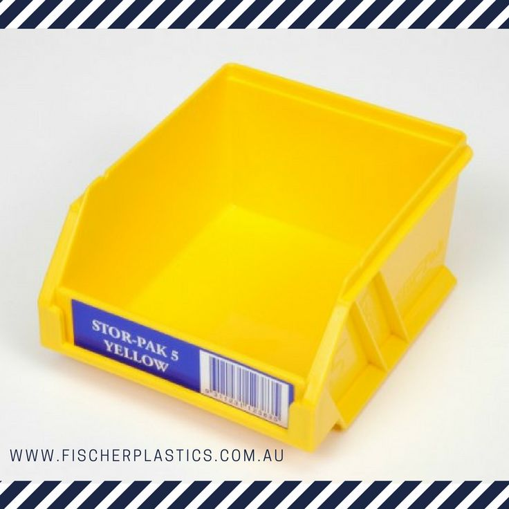 Our plastic Stor-Pak Bin storage systems come in a range of different sizes and colours that will keep you organised. Our Stor-Pak Bins keep all your small pieces like bolts, bits, small tools and other supplies organised and readily on hand.