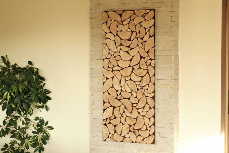 24 best modern wooden Wall Art images on Pinterest | Timber walls ...