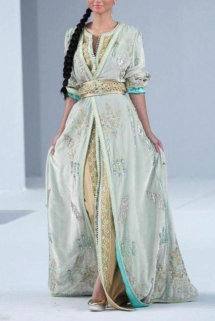 Love this takshita (traditional Moroccan dress)