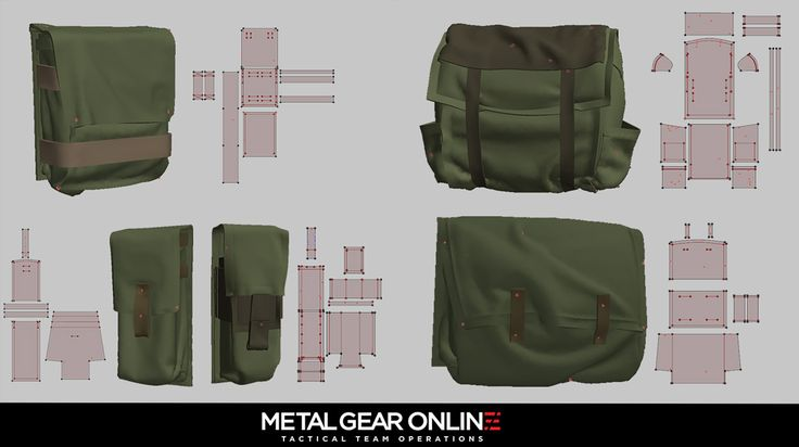 ArtStation - Metal Gear Online, John Gotch