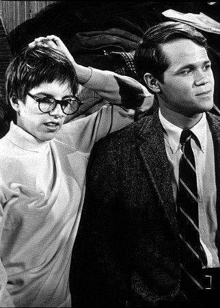 Wendell Burton and Liza Minnelli in The Sterile Cuckoo (1969)