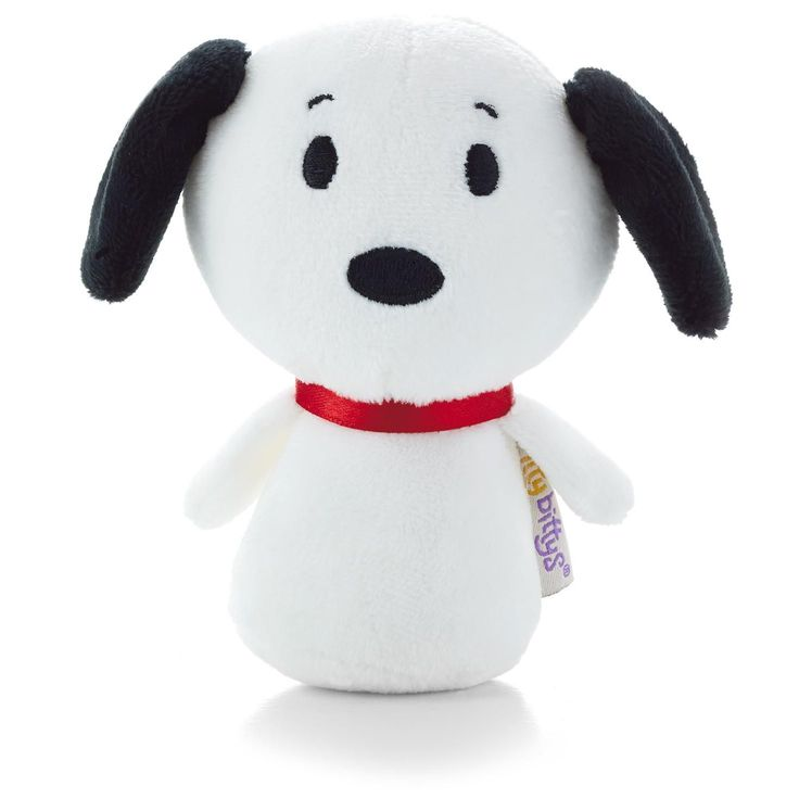Charlie Brown's beagle friend, Snoopy, is awfully charming in this tiny version of himself.