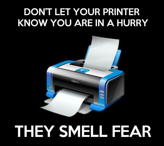 Don't let your printer know // funny pictures - funny photos - funny images - funny pics - funny quotes - #lol #humor #funnypictures