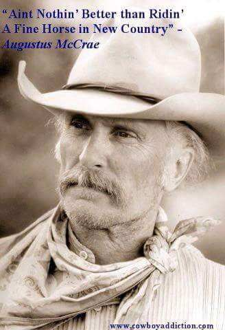 "From 'LONESOME DOVE"" trilogy"