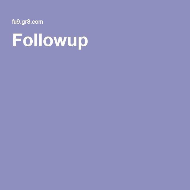 Followup 9
