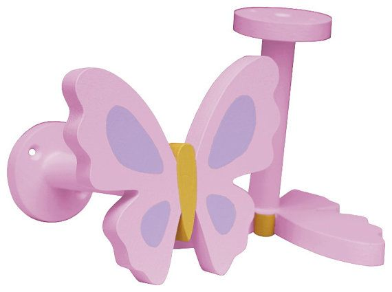 Butterfly Curtain Holdbacks - Pink Butterfly Curtain Tiebacks